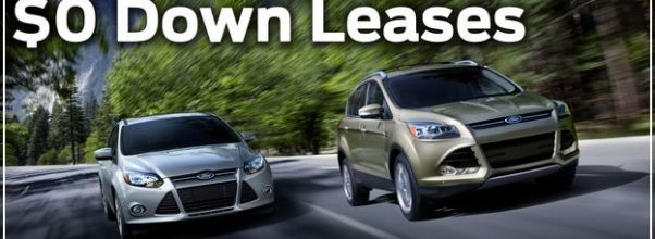 0 Down Lease Deals 2019