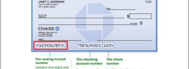 Account Number On Check Chase How Many Digits