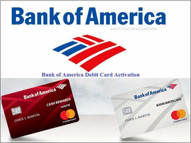 Activate Bank Of America Debit Card Pin