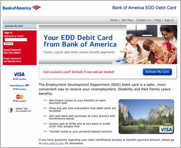 Activate New Bank Of America Debit Card