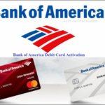Activating Bank Of America Debit Card