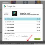 Add Funds To Google Play