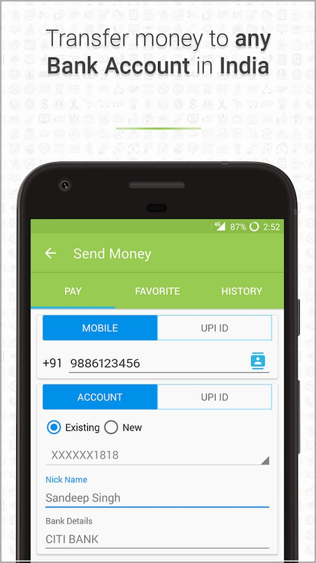 Add Money To Google Play India