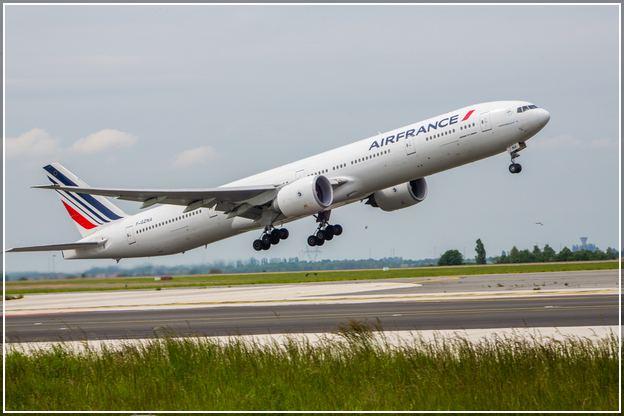 Air France Business Class Upgrade