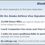 Alaska Airlines Credit Card Offer