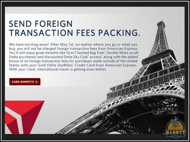 American Express Foreign Transaction Fee