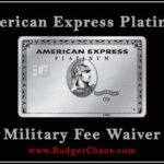 American Express Platinum Military Annual Fee
