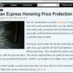 American Express Price Drop Protection