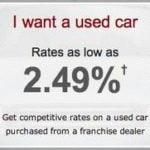 Bank Of America Car Loan Interest Rates