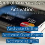 Bank Of America Credit Card Pin Activation