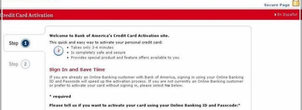 Bank Of Americaactivate My Debit Card