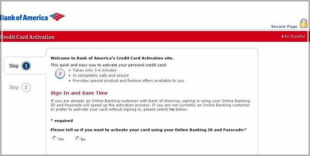 Bank Of Americaactivate My Debit Card