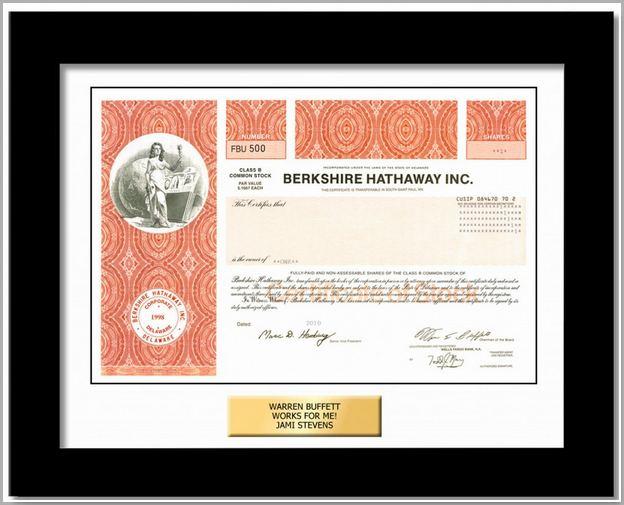Berkshire Hathaway Stock Class B Annual Return