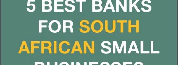 Best Bank For Small Business South Africa 2019