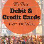 Best Credit Card For International Travel Uk