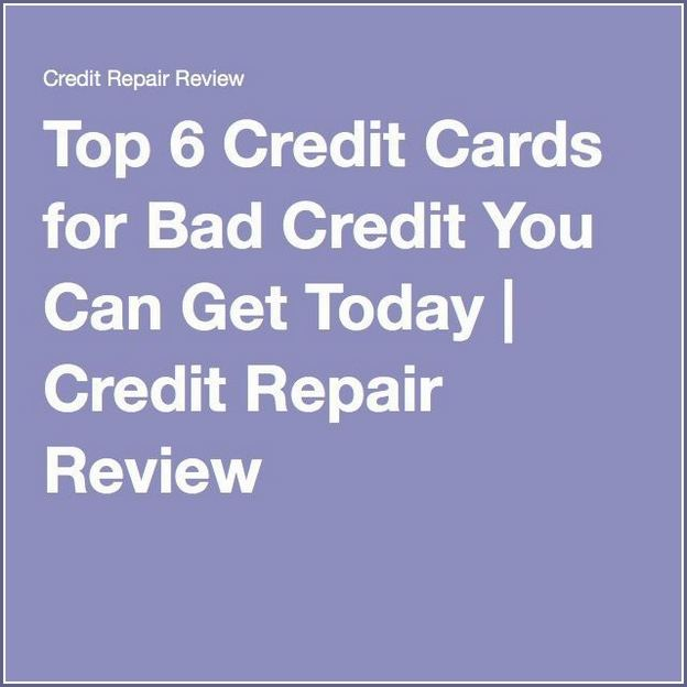 Best Credit Card To Build Credit With Bad Credit