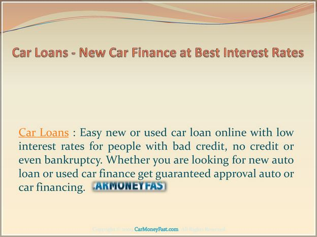Best New Car Loan Rates 72 Months