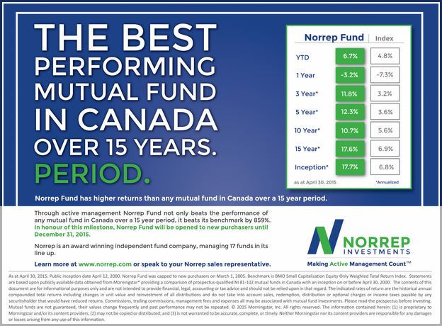 Best Performing Mutual Funds Canada
