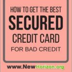 Best Starter Credit Card For Bad Credit