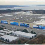 Boeing Everett Factory Rain