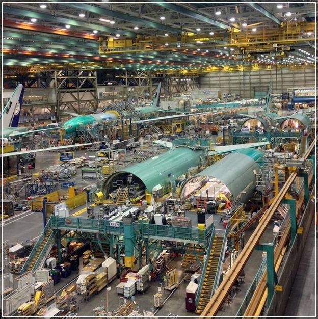 Boeing Everett Factory Tour Video