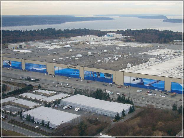 Boeing Everett Factory