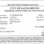 California Business License Database