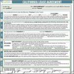 California Lease Agreement Template