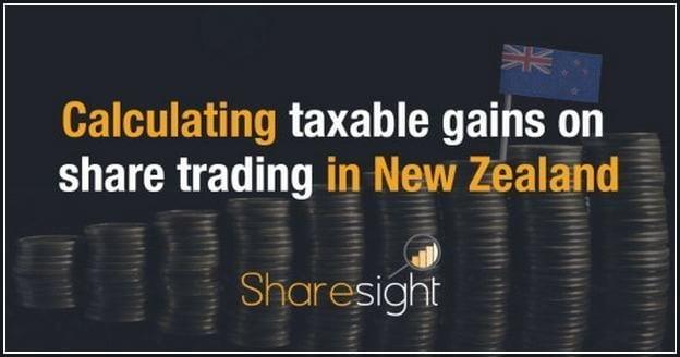 Capital Gains Tax Calculator Nz