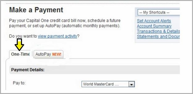 capital one auto finance payment number