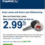 Capital One Auto Refinance Rate