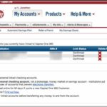 Capital One Bank Customer Service Checking Account