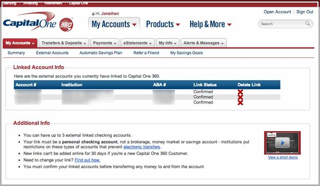 capital one customer service online banking