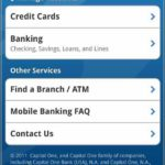 Capital One Banking Online App