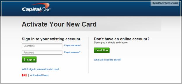 Capital One Online Banking Login My Account