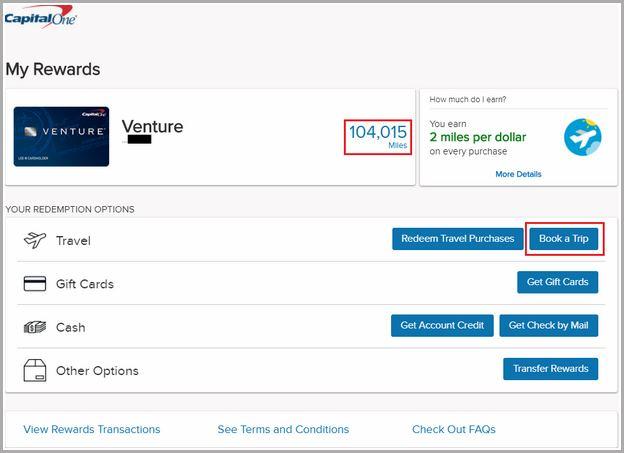 Capital One Travel Portal Login