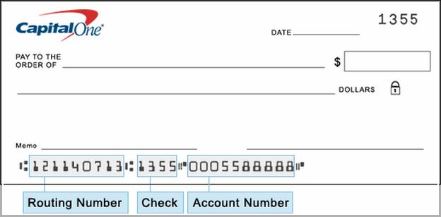 Capital One Wire Transfer Routing Number