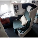 Cathay Pacific Business Class 777