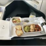 Cathay Pacific Business Class Essen