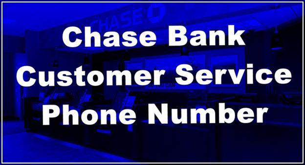 Chase Bank Customer Service Phone