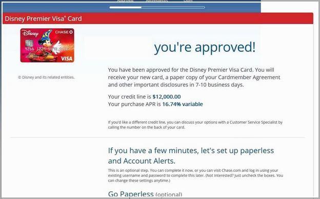 Chase Bank Disney Credit Card Login
