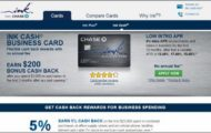 Chase Ink Business Cash Card Login