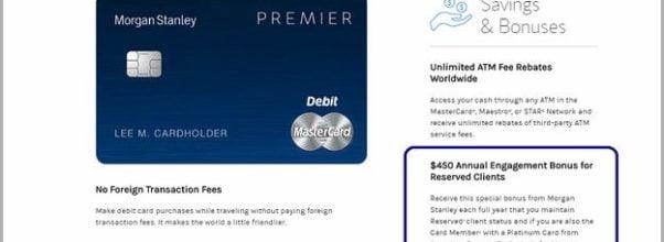 Chase Premier Platinum Checking Debit Card