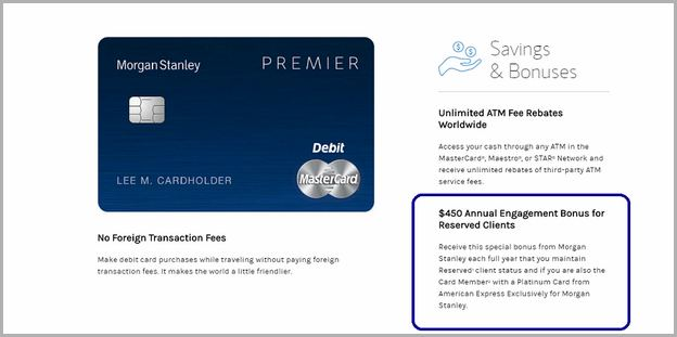 Chase Premier Platinum Checking Debit Card