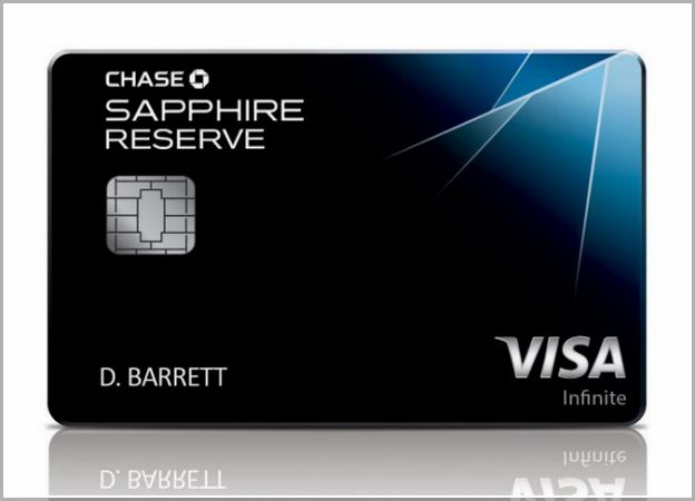 Chase Sapphire Reserve No Credit History