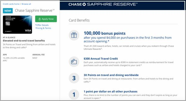 Chase Sapphire Reserve Phone Number
