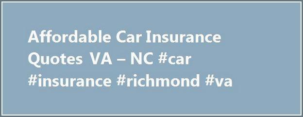 Cheap Car Insurance Quotes Nc