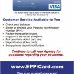 Child Support Card Balance Indiana