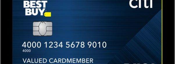 Citi Best Buy Credit Card