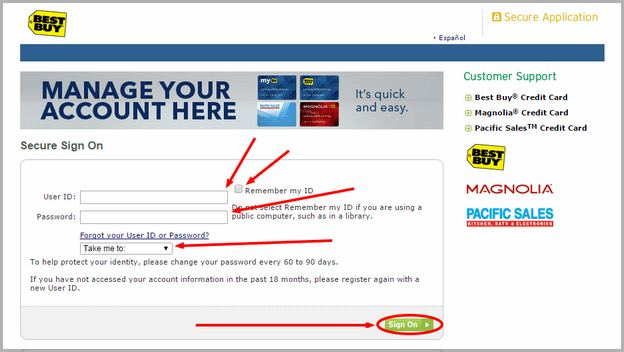 Citi Best Buy Credit Card Status